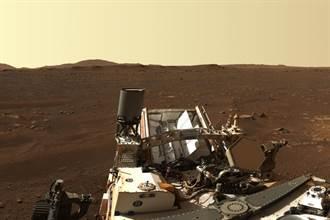 毅力號高清火星登陸點照片 由142張照片拼成