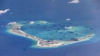 衛星圖片顯示美濟礁新變化 陸被指推進「完全軍事基地化」