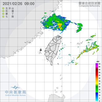 東北季風影響 吳德榮:今晚水氣南下