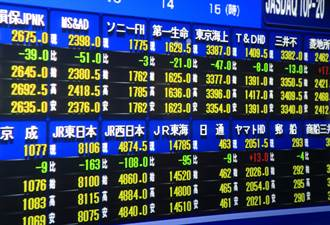 華爾街股市亂流拖累 日股一度跌逾900點