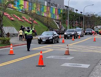 228連假警方加強疏導 確保交通順暢安全
