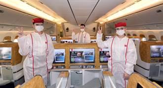 機組員全打過疫苗 阿聯酋航空服務新招