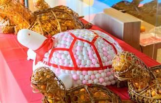 全聯以柑仔龜祈福 大桔大利好運龜來