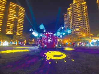 竹縣燈會拍美照 楊梅比創意
