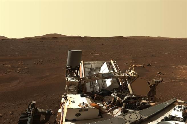 毅力號高清火星登陸點照片。(圖/NASA)