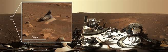 毅力号高清火星登陆点照片 由142张照片拼成