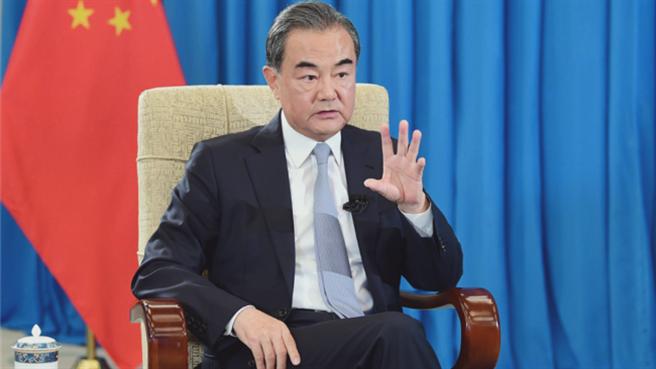 大陸國務委員兼外長王毅。(鳳凰網)