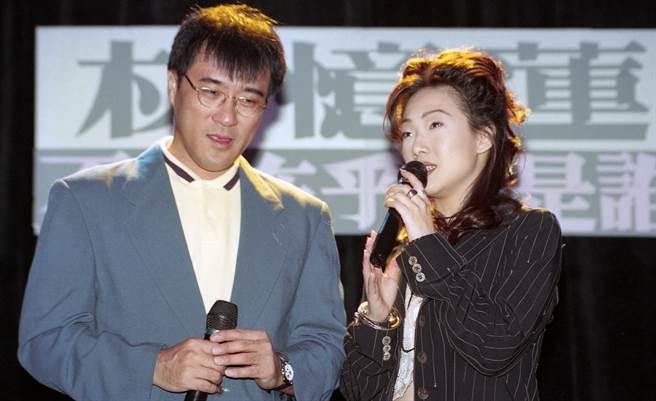 林憶蓮和李宗盛當年愛得轟轟烈烈。(資料照)