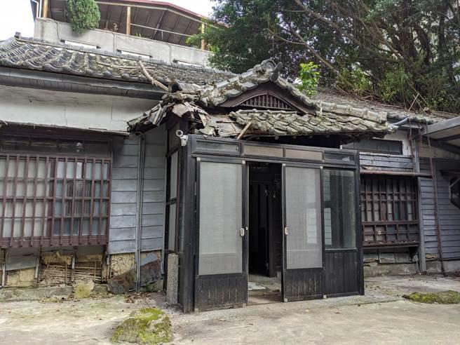 臺靜農故居通過台北市文資會審議通過修復及再利用計畫。(北市文化局提供)