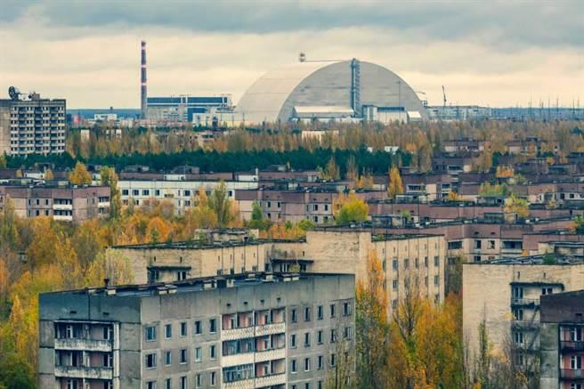 車諾比核電廠自1986年發生震驚世界的核災事故。(圖/達志/美聯社)