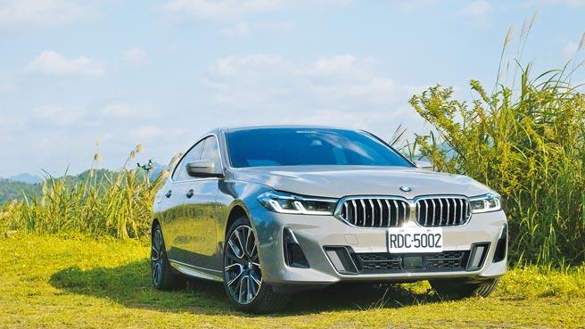 全新BMW 630i Gran Turismo M Sport採更動感一體化雙腎水箱罩,無疑將為GT車系開展另一經典!