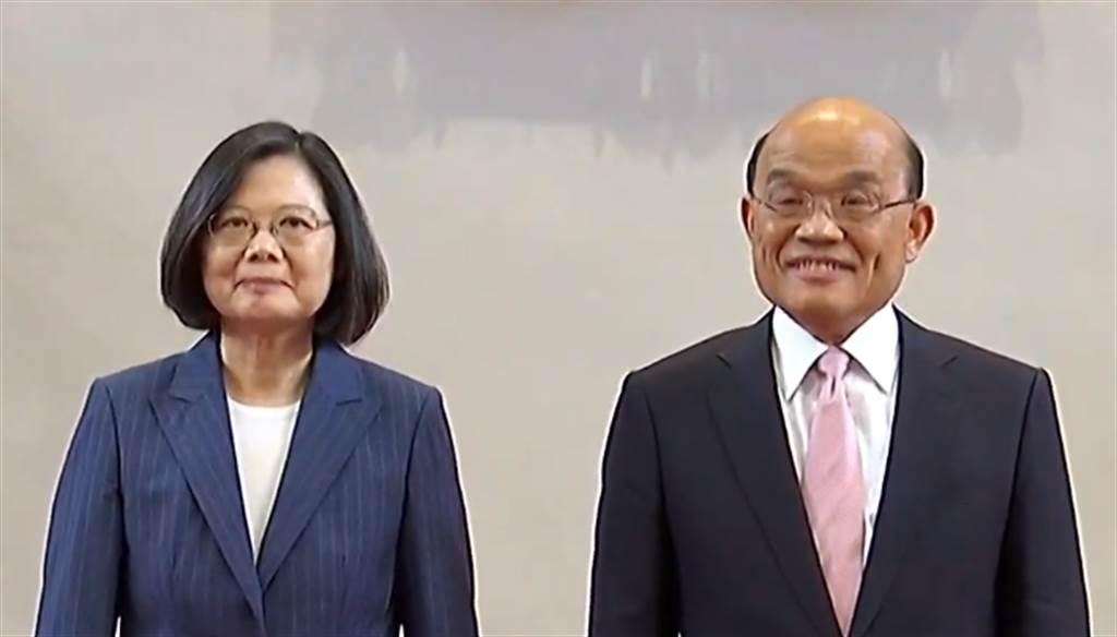 蔡英文總統(左)、行政院長賴清德(右)。(圖/本報資料照)