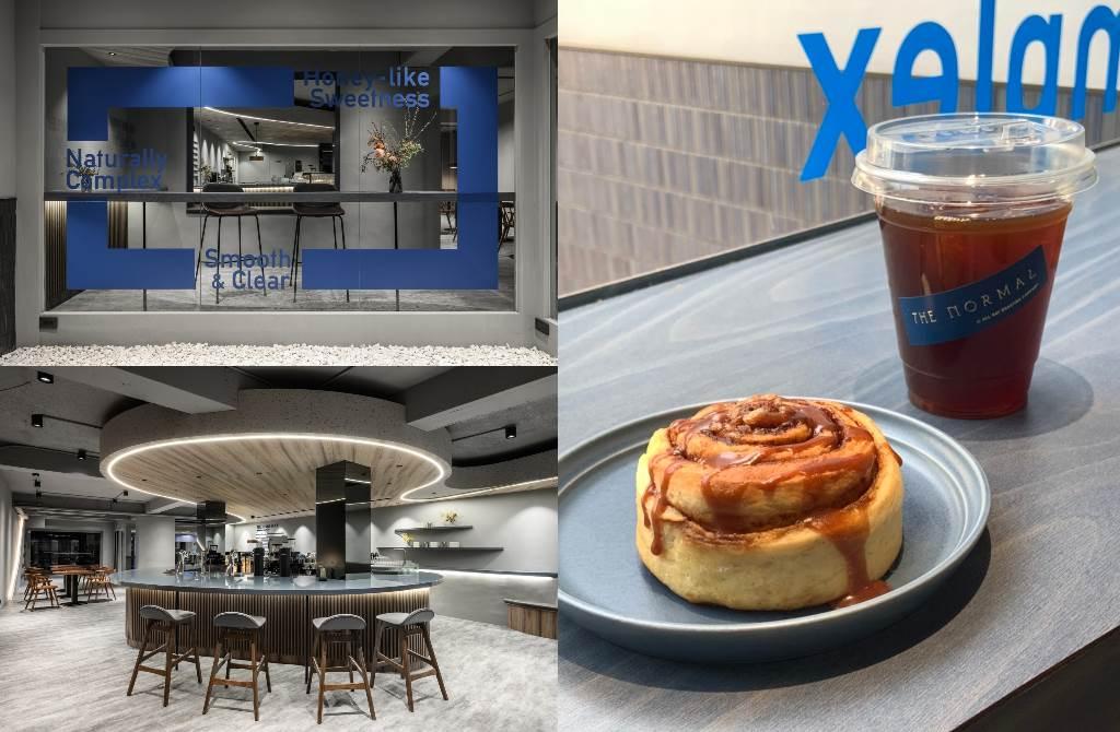 曾獲外媒評選為全台7大咖啡館之一的「ALL DAY ROASTING COMPANY」,旗下的精品咖啡品牌「THE NORMAL」在先前一開幕就掀起打卡炫風。(圖/楊婕安攝)