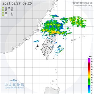 吳德榮:今晚入夜北台雨漸停歇