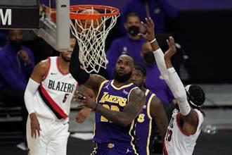 NBA》薛洛德復出當救世主 湖人輕取拓荒者止敗