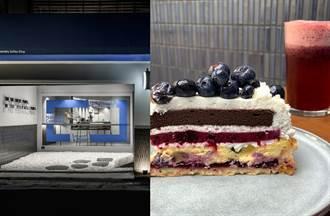 人氣精品咖啡推藍莓泡泡飲 搭流心乳酪巧克力蛋糕掀熱潮