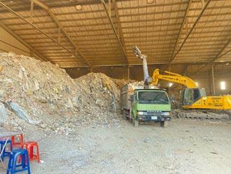 憂10億利益泡湯 地主清2500噸垃圾