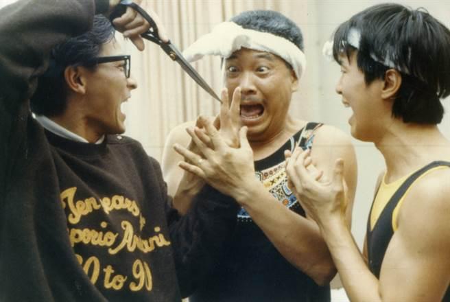 吴孟达、周星驰、刘德华经典合作电影之一《整人专家》。(本报系资料照)
