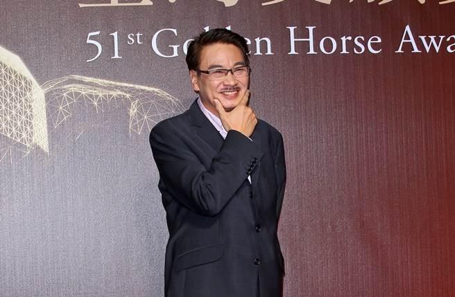 吳孟達2014年來台出席金馬獎。(本報系資料照)