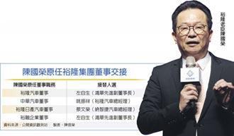 裕隆老臣陳國榮 退休