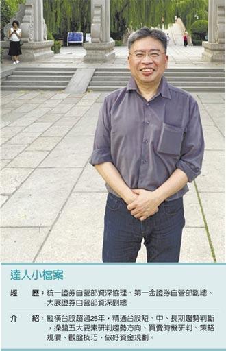 職場達人-德信證券自營部副總經理 吳文彬洞見趨勢 成操盤常勝軍