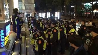 连续假期六分局威力扫荡临检 致力守护安心台中城