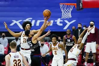NBA》七六人爆冷輸騎士 班西蒙斯痛批太想放假