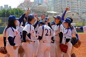 女子棒球聯賽排名賽台中登場 爭奪決賽門票資格
