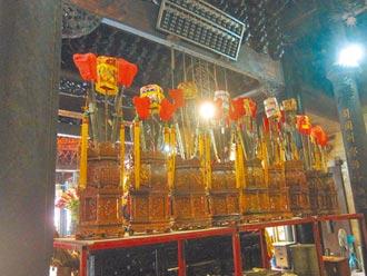 嘉義城隍廟 12古物登錄文化資產
