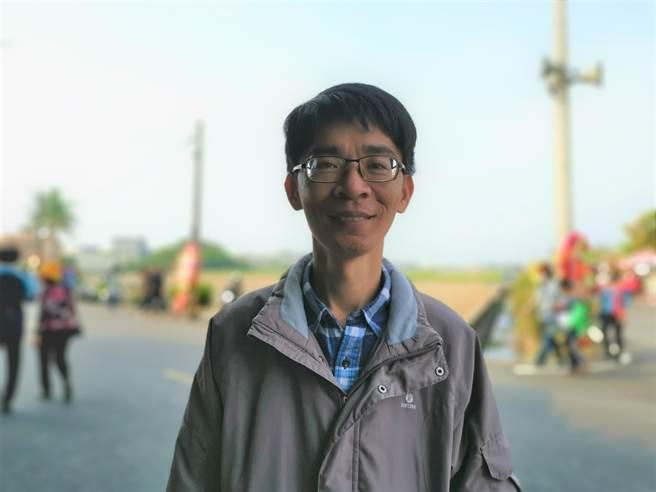 台南市东山区吉贝耍国小林志宏表示,希望水云校区能变身为环境教育场域。(刘秀芬摄)
