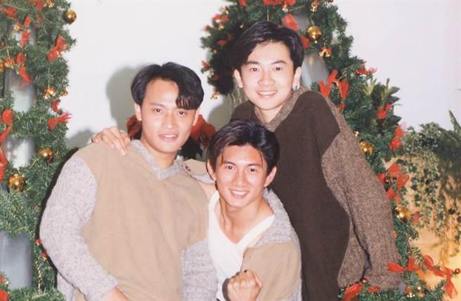 吳奇隆、蘇有朋、陳志朋當年組男團「小虎隊」,成為萬人迷。(圖/本報系資料照片)
