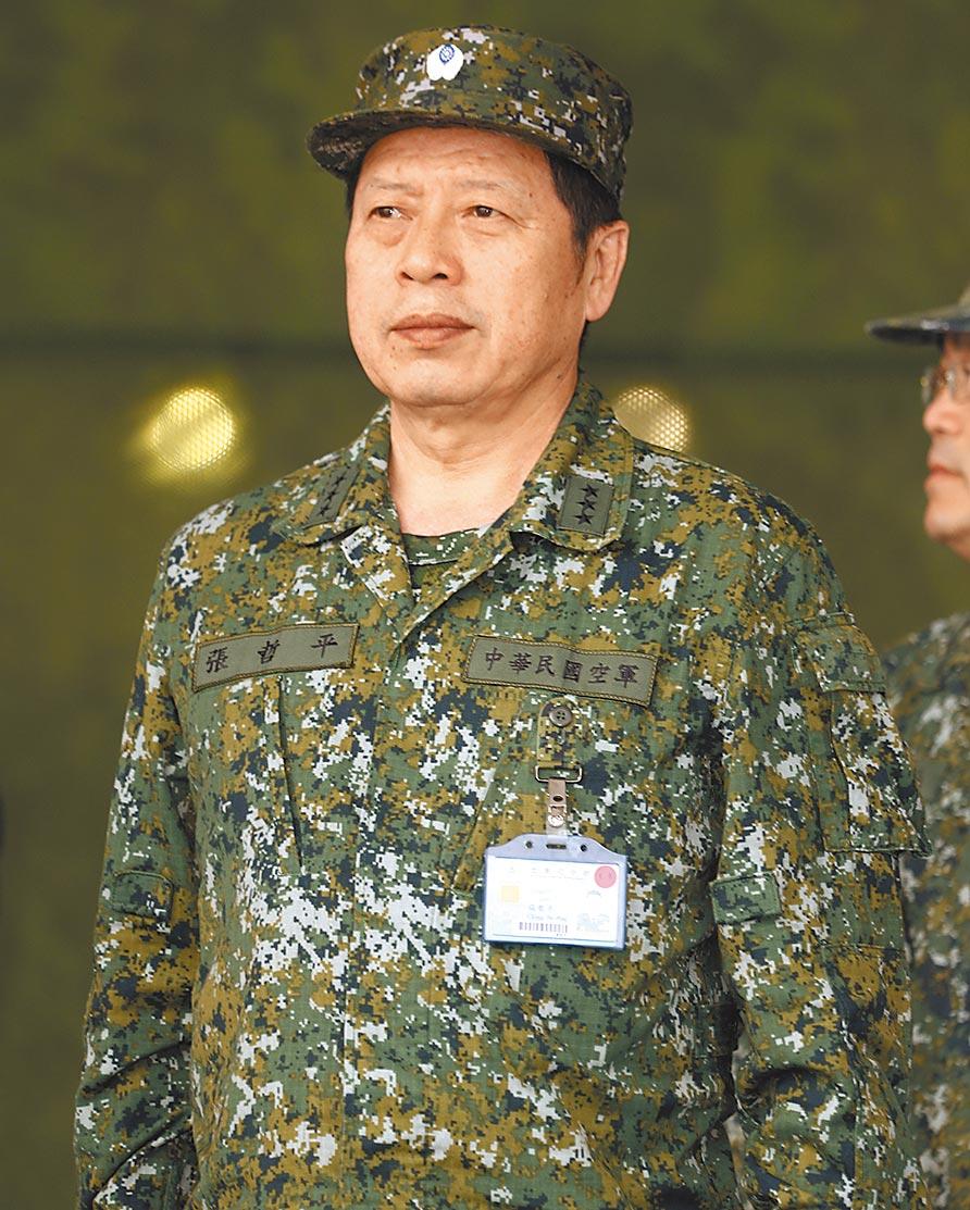 參謀總長黃曙光6月底將屆齡退役,軍中預料,空軍出身的張哲平(見圖)是下任總長熱門人選。(本報資料照片)