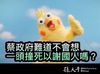 孙大千:美国不伸援买凤梨  台湾衝突怎会派兵?