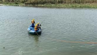 貓羅溪驚傳釣客落水 溪流湍急消防搜救只見釣竿