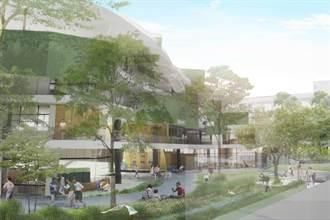 竹市龍山國小群英樓今夏完工 打造森林校舍