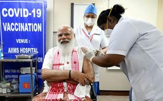 印度第2階段疫苗接種開始 總理莫迪施打第1劑