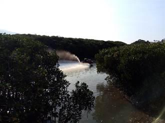 淡水紅樹林保留區接連遭闖 巡山員拍照舉發
