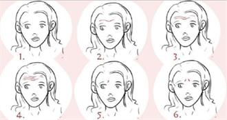 网疯传超准心理测验 6种额头纹路看出隐藏性格