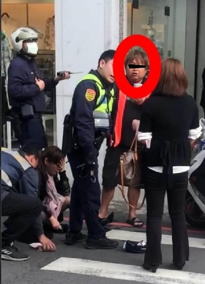 錄影男子不斷加油添醋掀眾怒(圖片截自/爆怨公社)