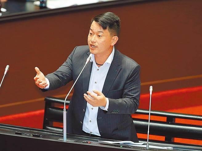 台湾基进立委 陈柏惟。(本报资料照片)