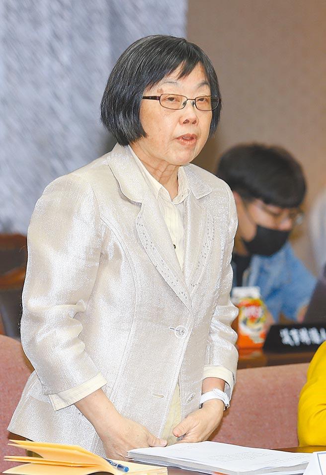 促轉會委員許雪姬。(本報資料照片)