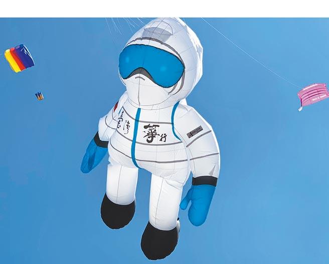 110全中運將有防疫英雄風箏向防疫人員致敬。(雲林縣政府提供/周麗蘭雲林傳真)