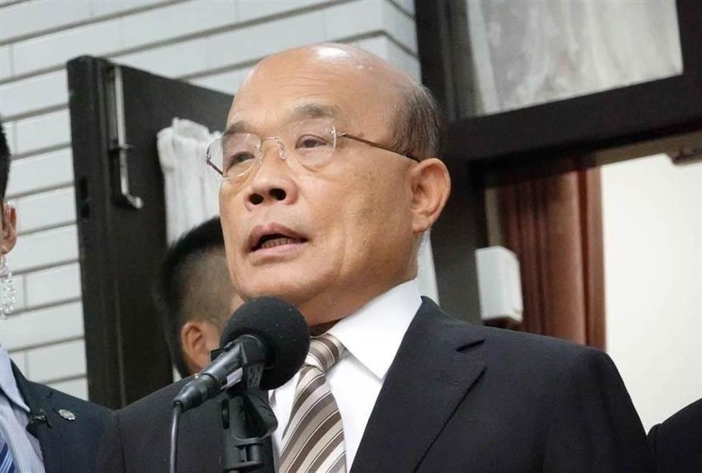 行政院長蘇貞昌指出,台灣不應出現歧視的言論。(圖為中時資料照)