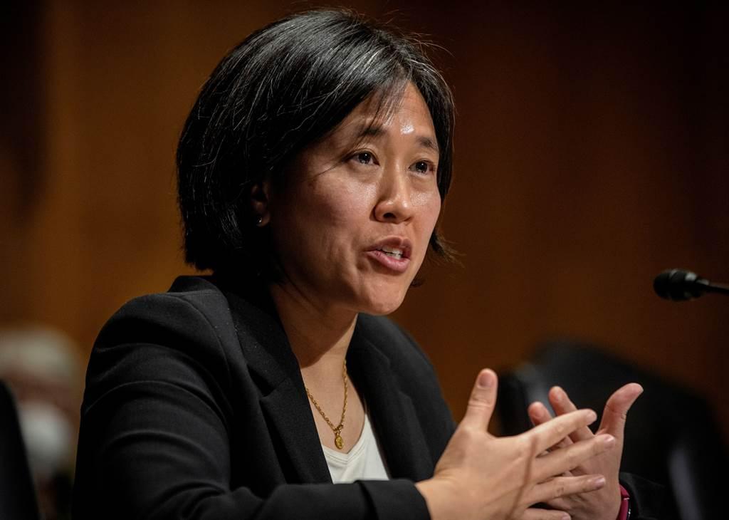 戴琪誓抗陆不公贸易作为 矛头也对准审查制度。图/路透(photo:ChinaTimes)