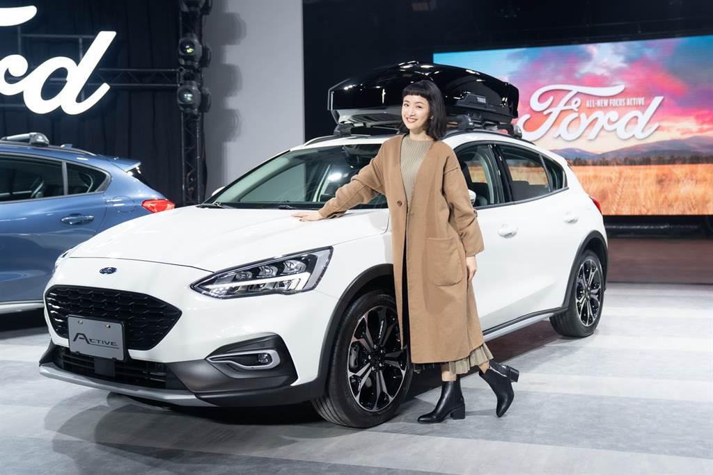 繼Focus後,Ford再次邀請林依晨擔任Focus Active代言人。