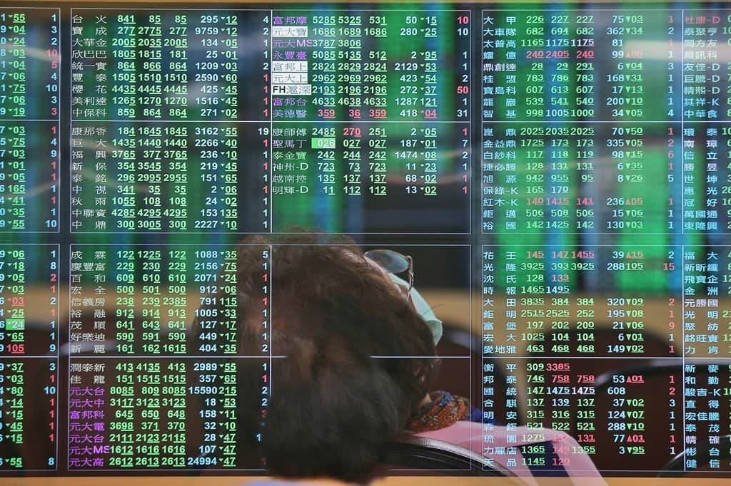 台股萬六得而復失,三大法人又賣超逾百億元。(資料照)