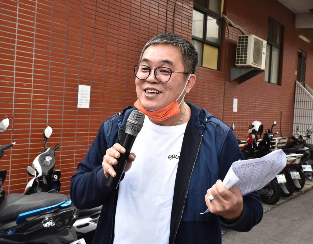 罷琳團體發起人陳清茂對罷琳案未通過表示尊重。(本報資料照片)