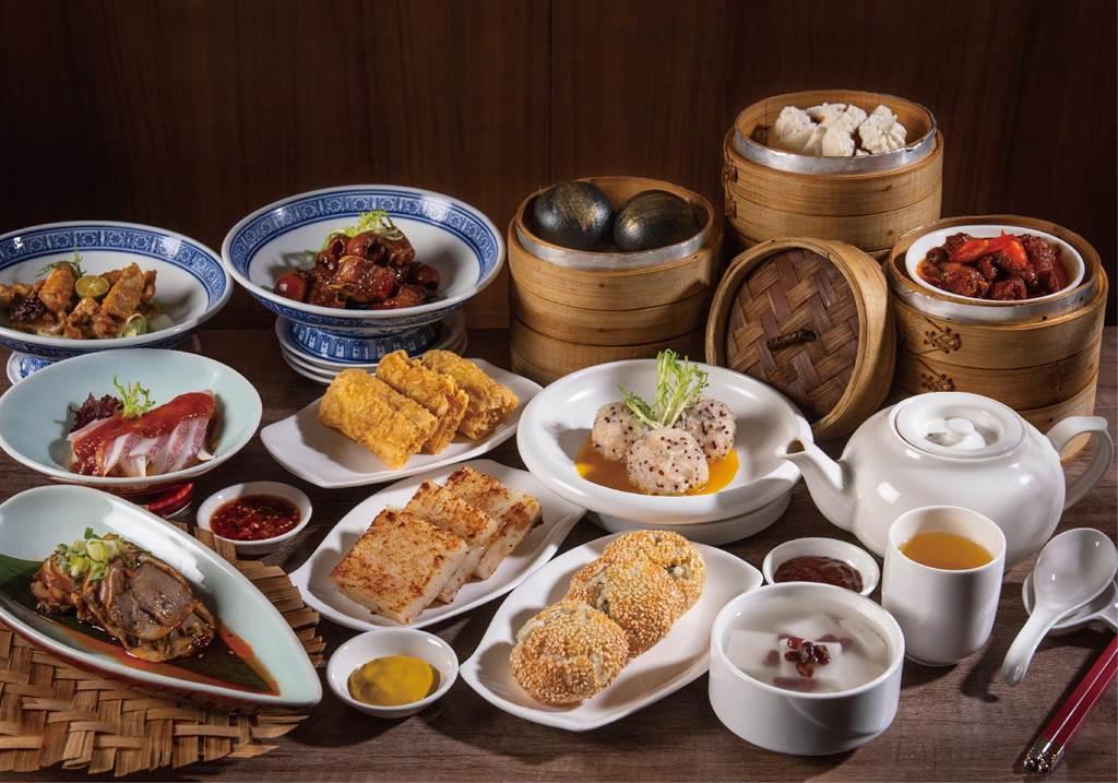 凯达大饭店家宴推出「凯达川江粤」吃到饱活动,每人980元+10%。(凯达大饭店提供)