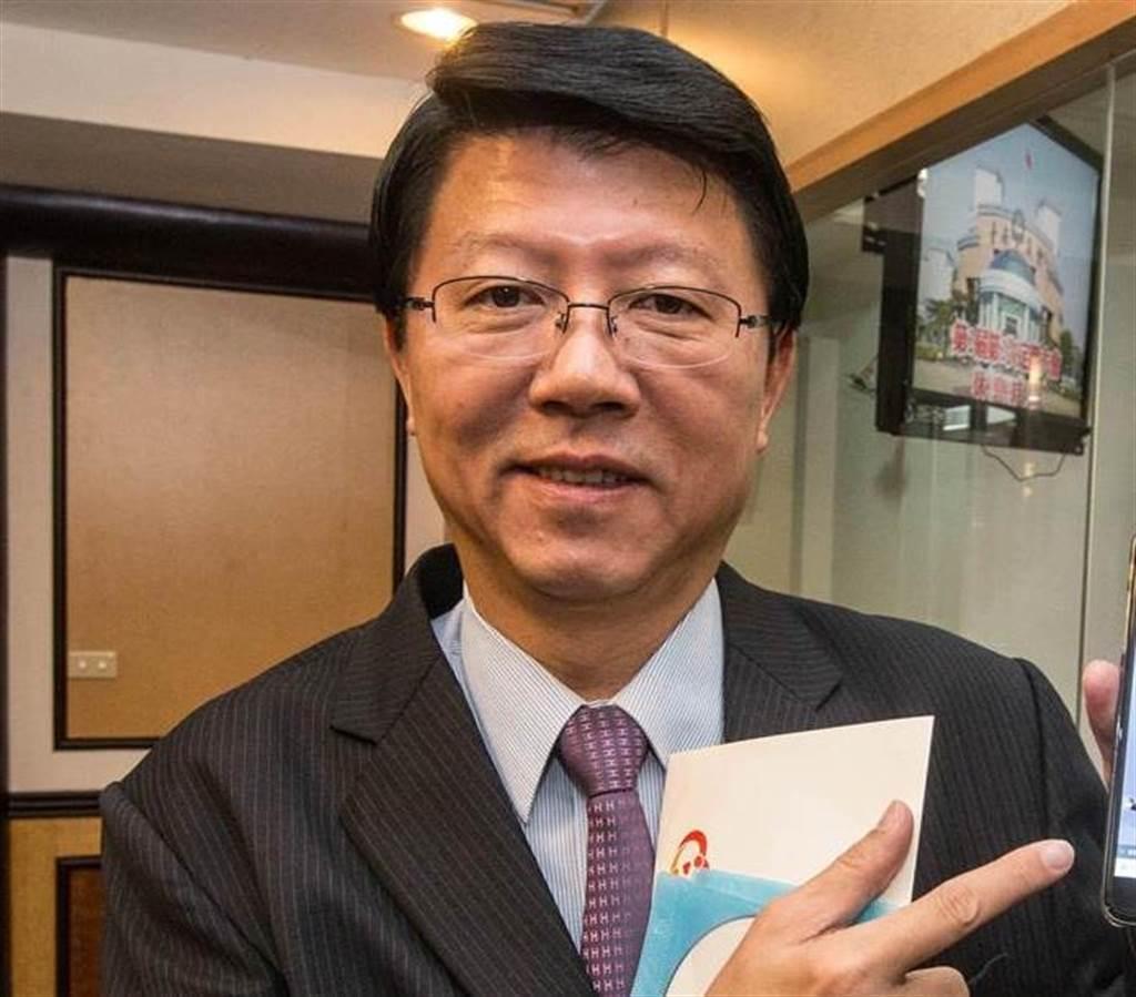 國民黨台南市議員謝龍介。(圖/本報資料照)