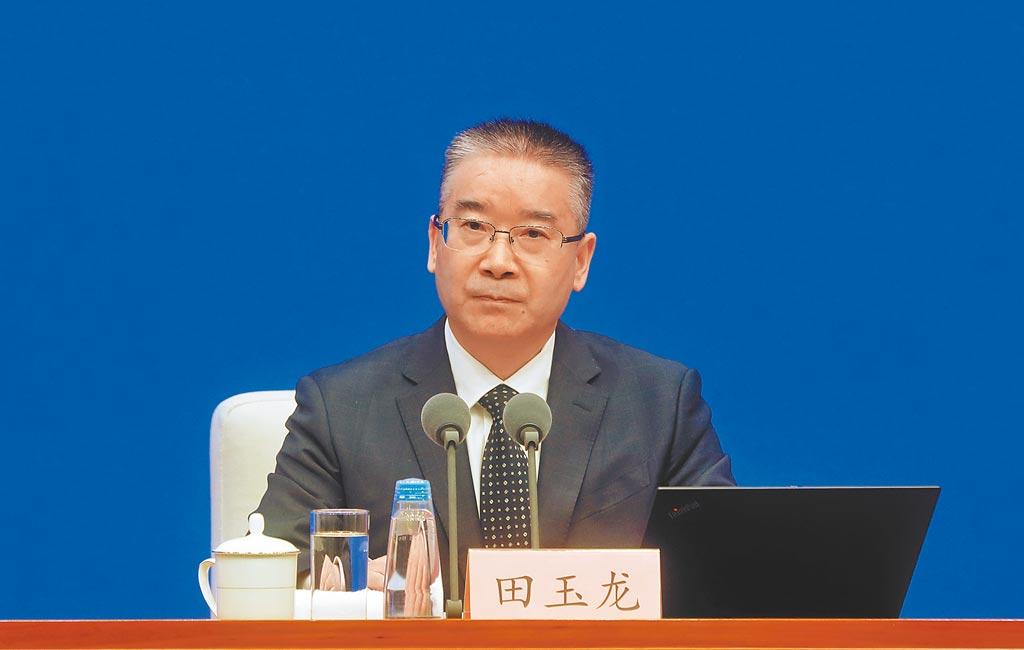 3月1日,中國國務院新聞辦公室在北京舉行新聞發佈會。(中新社)